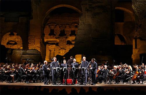 """Orchestra e coro dell'Accademia di Santa Cecilia - """"The King's Singers"""""""