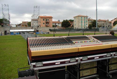 Stadio comunale di Manziana, Roma