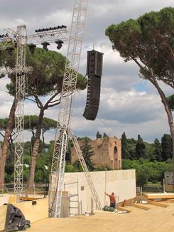 Allestimento Terme di Caracalla