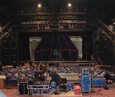 Allestimento audio - Teatro della Luna di Milano