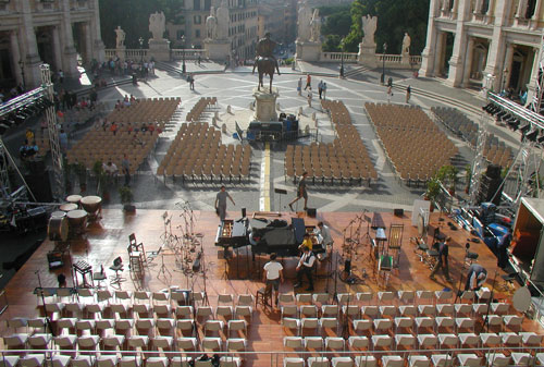 """Carmina Burana"" - Campidoglio, Roma"
