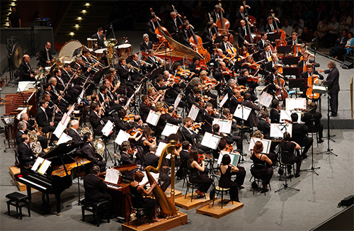 """Orchestra and Chorus of the Accademia di Santa Cecilia -   """"Cinema Italiano"""""""