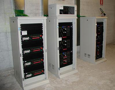 Installazione audio - Sala Santa Cecilia