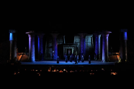 Choir and orchestra of Teatro dell`Opera - ''Aida'