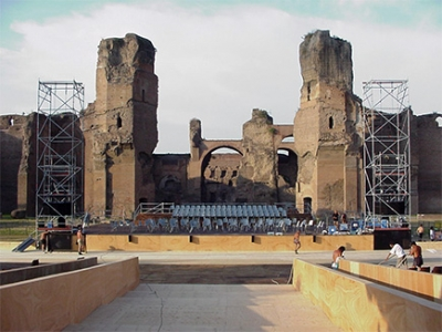 """Baths of Caracalla"""