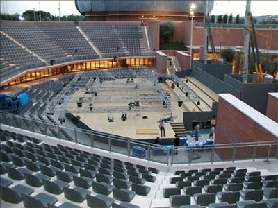 Allestimento audio - Auditorium Parco della Musica di Roma